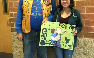 Lexington Park Student Advances in Lions International Peace Poster Contest