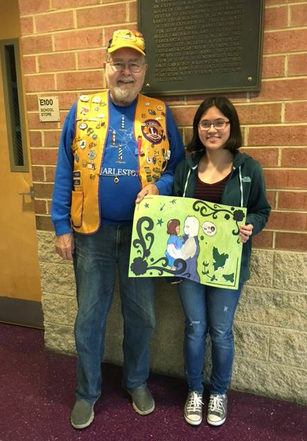 Lexington Park Student Advances in Lions International Peace Poster Contest