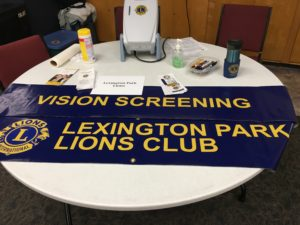 Community Assistance Day Vision Screenings