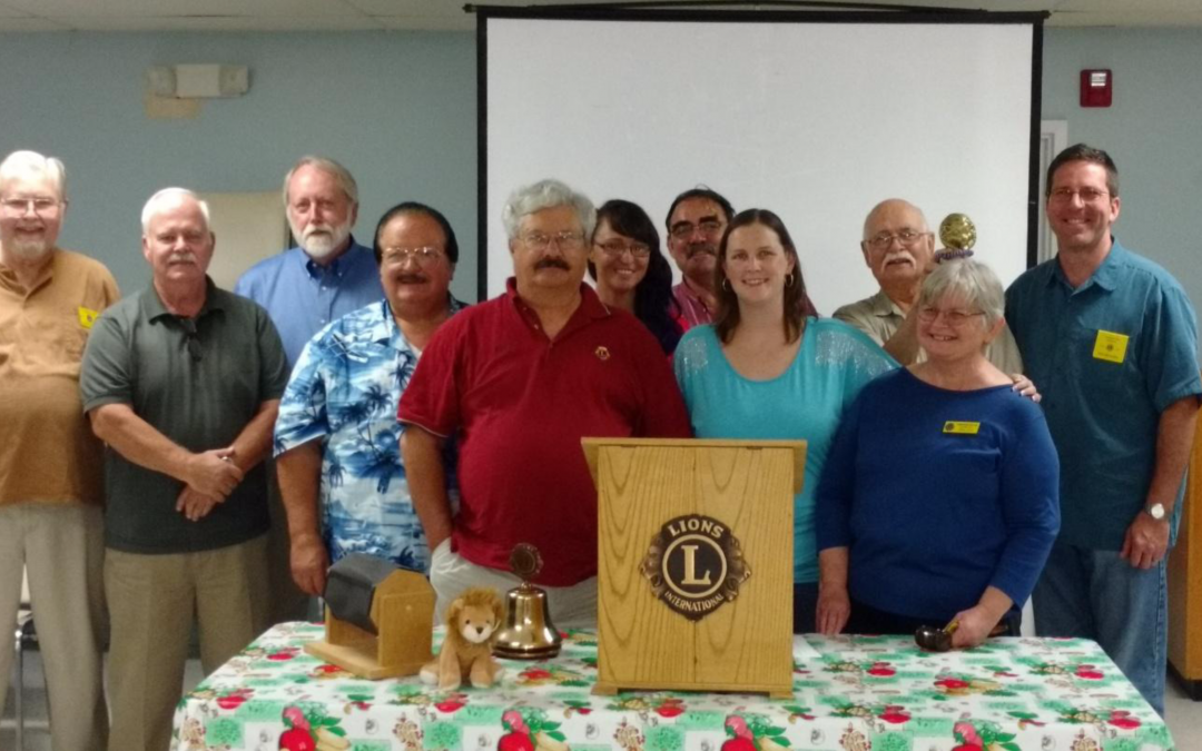 Lexington Park Lions Club Installs New Officers