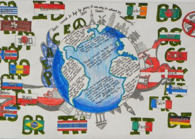 Peoples Choice Award Peace Poster Contest Winners