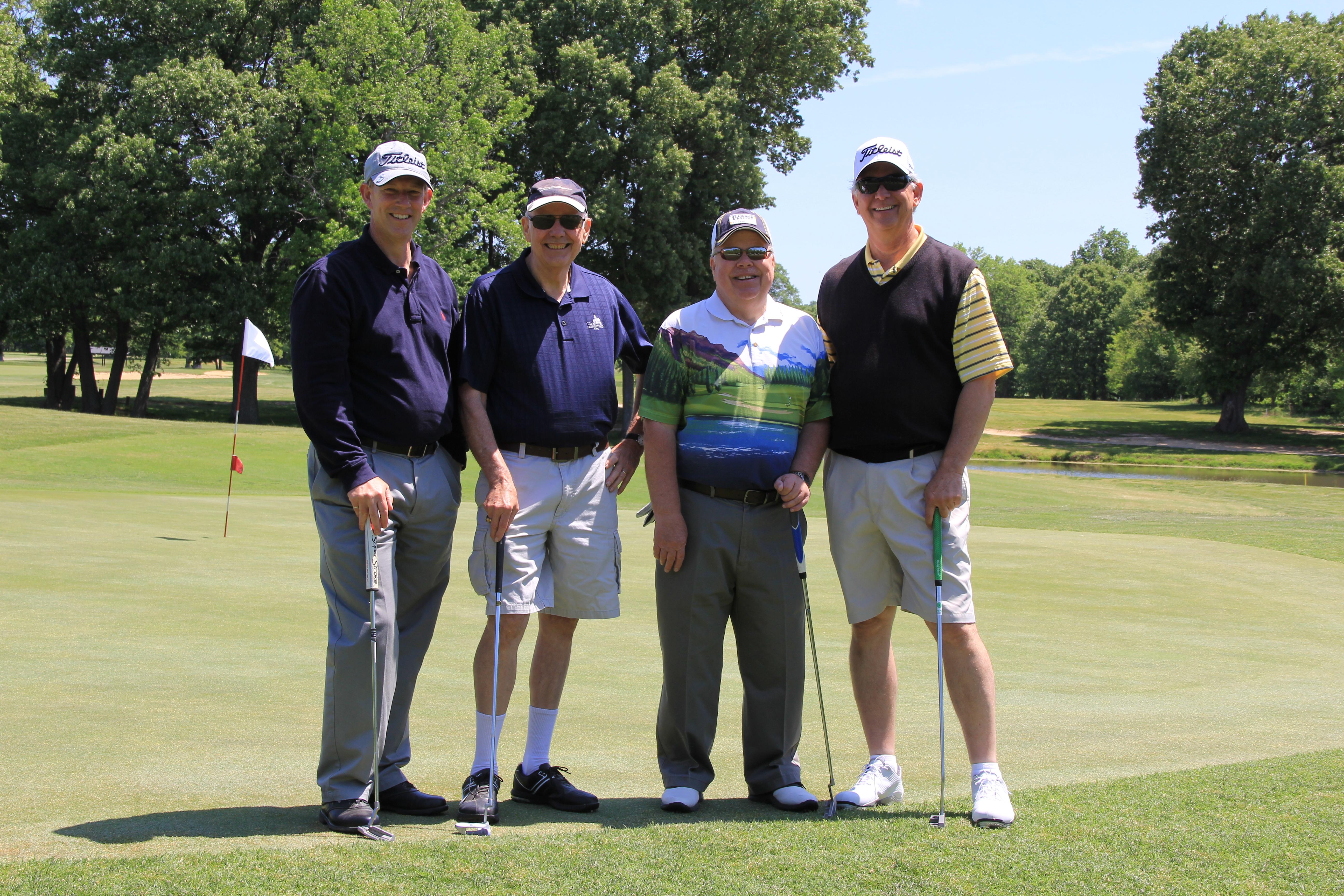 Team 5 - Dick Asbell, Rick Falkenstein, Ken Jones, Rick Rives