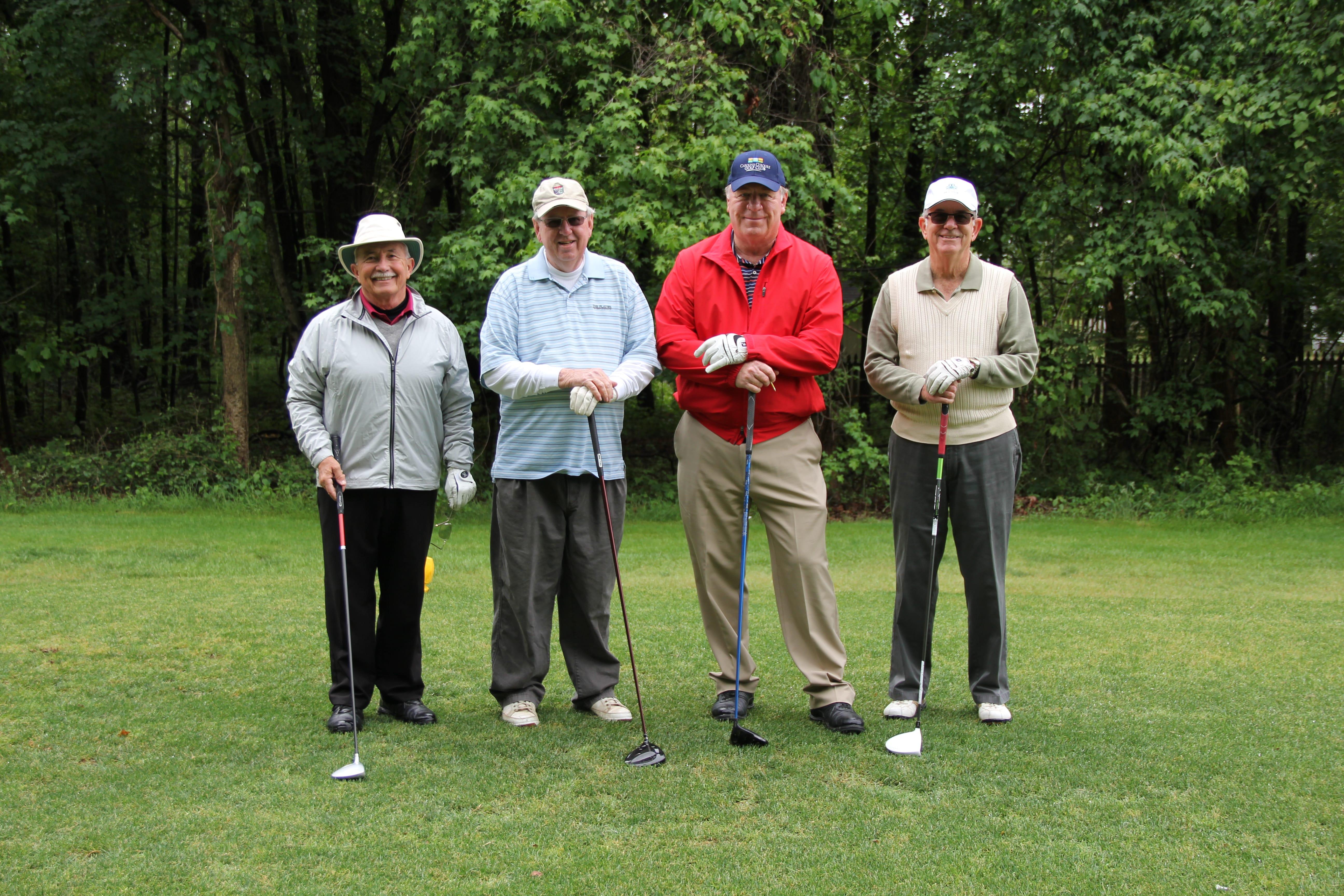 IMG_5899 - Team 1 - Buzz Shelley, Dave Van Alden, Doug Eddy, Dave Van Adlen