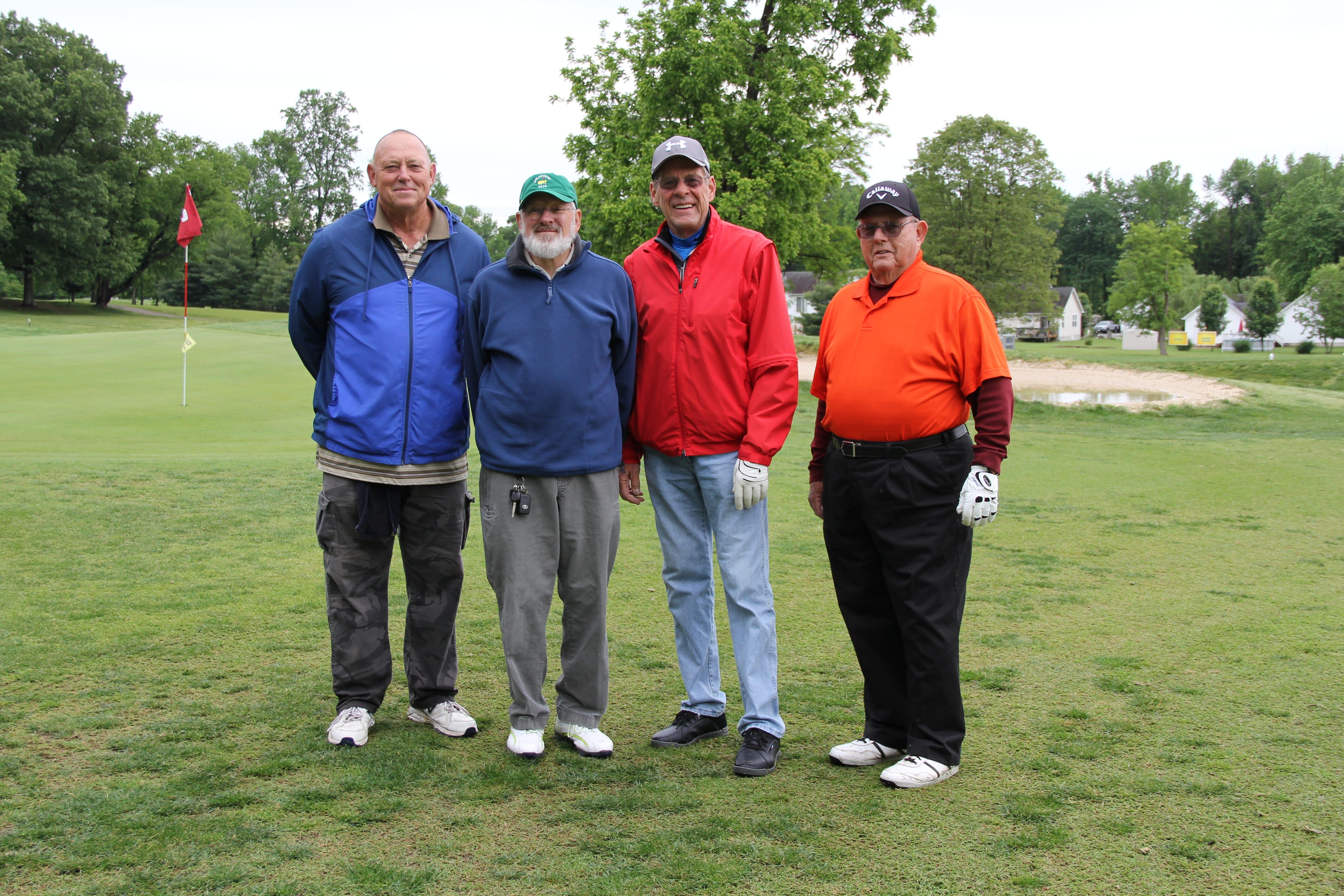 IMG_5907 - Team 5 - Larry Hill, Rodger Strickler, Leonard Okrie, Bill Gainey