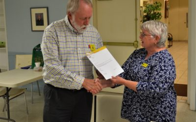 Randy Lawson Recognized for 20 Years of Service