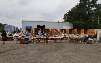 Yard Sale a Rousing Success