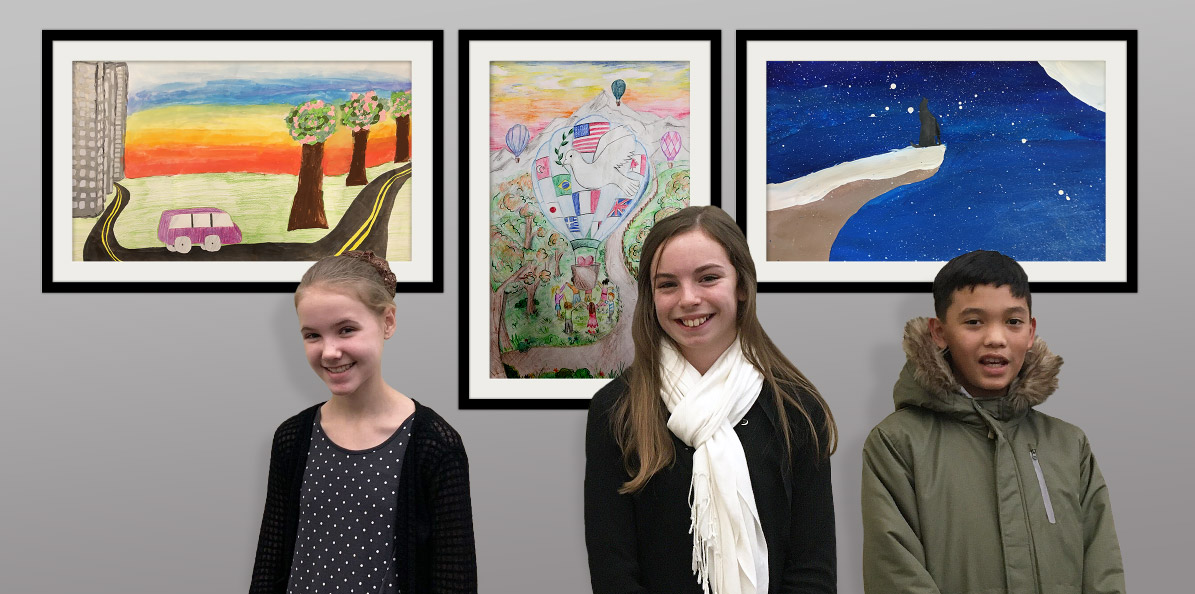 2019 St. Mary's Lions Club Peace Poster Contest Winners