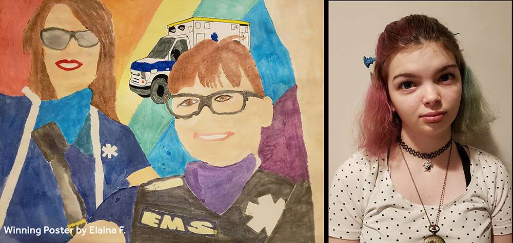 Our 2020-21 Peace Poster Contest Winner Announced